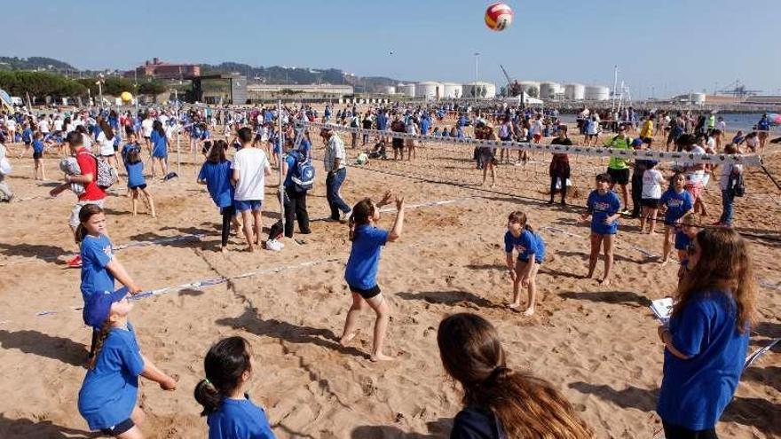 La playa elige a sus campeones