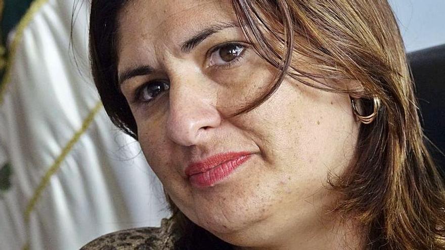 Carmen Luisa Castro, portavoz del PP.