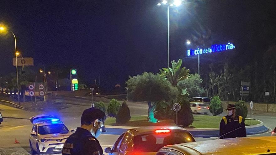 El grupo de noche de la Policía Local de Rincón ha efectuado más de 600 servicios y 77 detenciones en 2020
