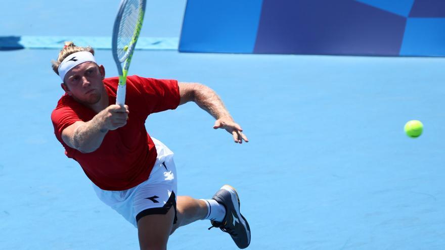 Alejandro Davidovich vence a Sousa en su debut en los Juegos Olímpicos