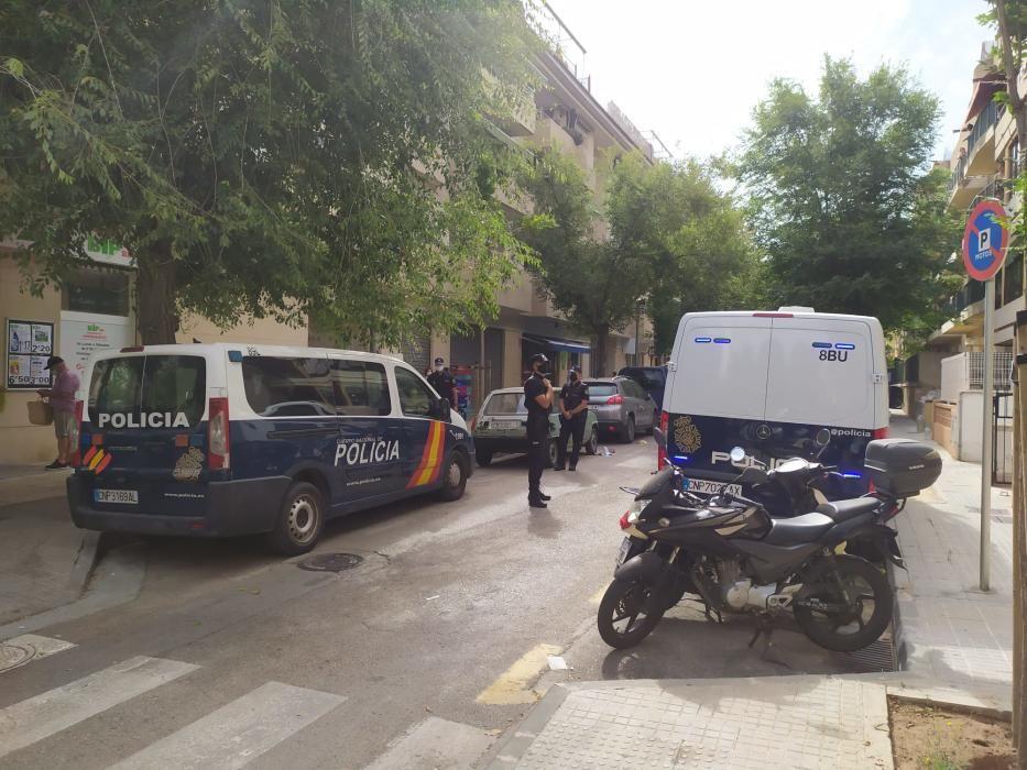 Gran operación policial contra el crimen organizado en Palma