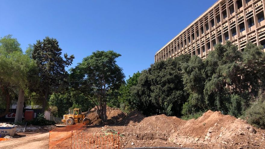 Avanzan las obras de ampliación del Hospital Clínico de València