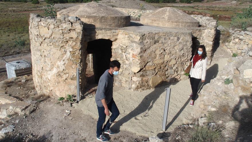 Obras de mejoras en el yacimiento prehistórico de Villena