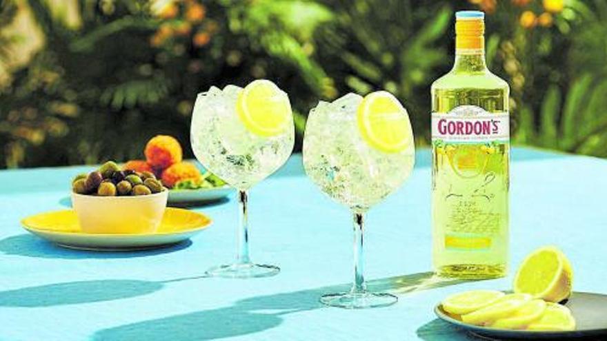 Gordon's lanza Sicilian Lemon