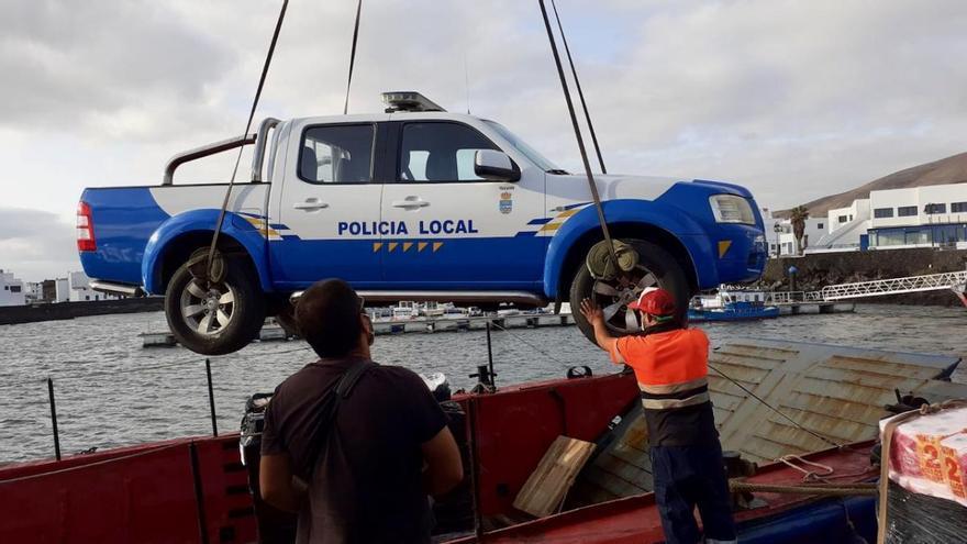La Graciosa contará con un nuevo vehículo policial 4x4