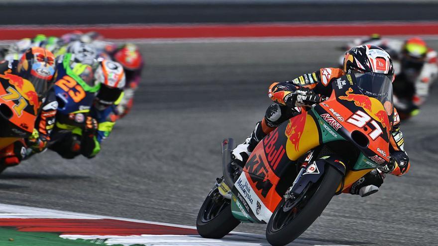 Pedro Acosta se acerca al título de Moto3 tras el octavo puesto en Texas