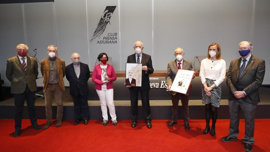 """El Real Instituto de Estudios Asturianos, """"Asturiano del mes"""" de noviembre en su 75.º aniversario"""