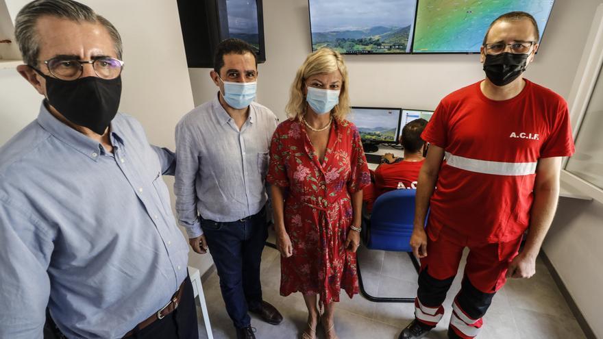 Gabriela Bravo visita las instalaciones de ACIF Alcoy con motivo del 30 aniversario de su fundación