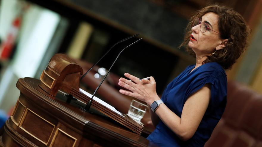 María Jesús Montero presenta el proyecto de Ley de PGE 2022
