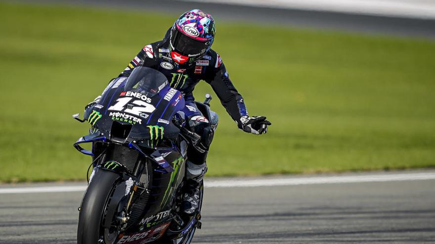 Morbidelli aconsegueix la pole i Viñales buscarà el títol de MotoGP des de la sisena posició