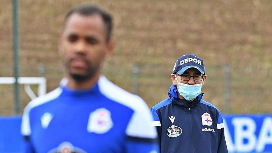 """Fernando Vázquez suliña que """"queda tempo, o resultado non é tan vital"""""""