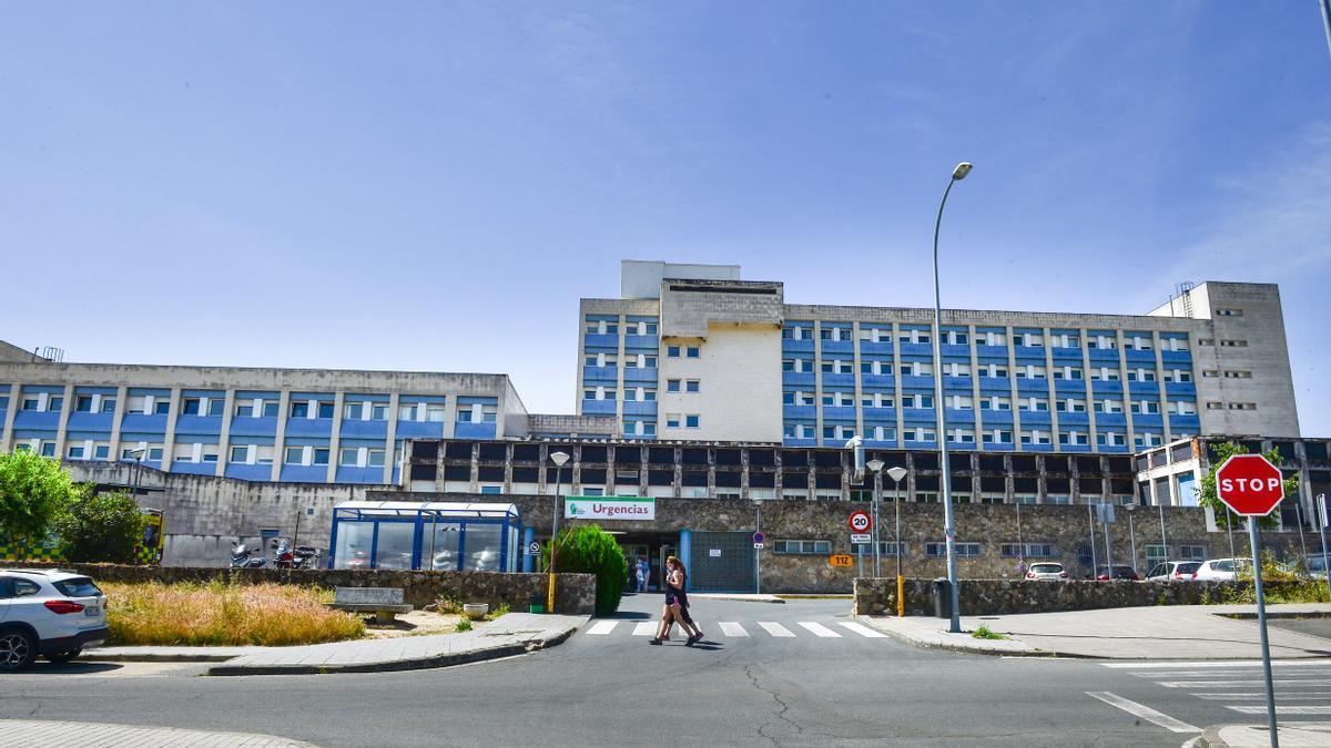 Urgencias del hospital Virgen del Puerto.
