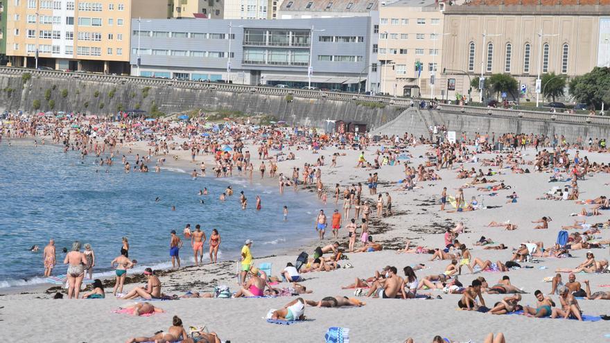 Alertas este martes por calor en Ourense y por viento en la costa de A Coruña