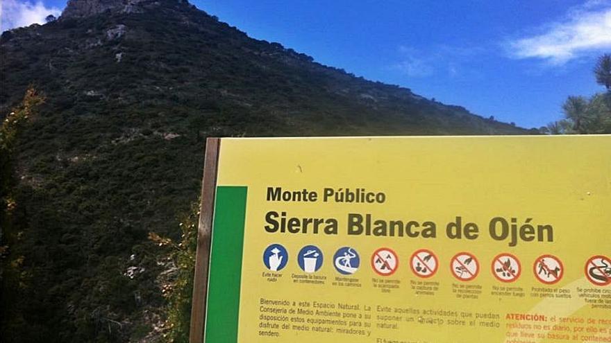 Dispositivo para evitar accidentes en la Sierra de las Nieves