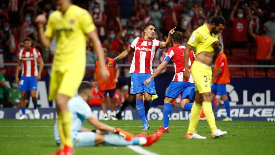 El Villarreal se flagela en el Wanda en el descuento ante el Atlético (2-2)