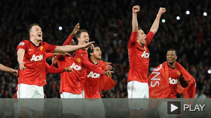 El Manchester United conquista su vigésimo título de Liga