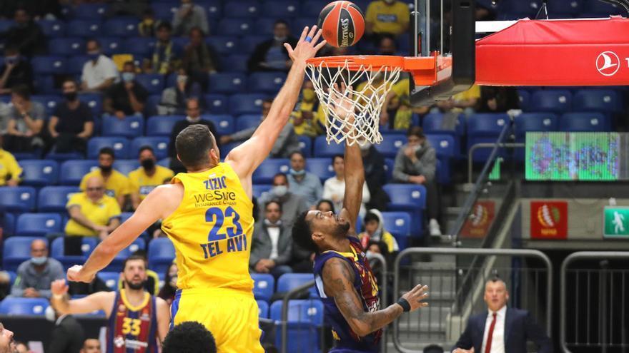El Barça no cierra el primer puesto en Tel Aviv