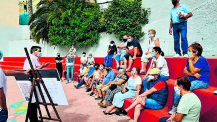 El Ayuntamiento saca a concurso el acondicionamiento de dos vías en San Juan