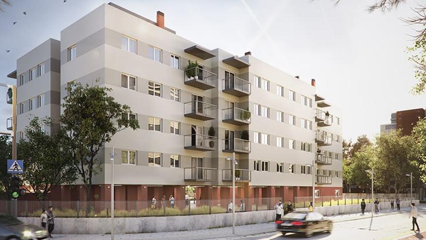 Proyectan 42 viviendas protegidas sobre suelo de la Generalitat Sant Joan d'Alacant