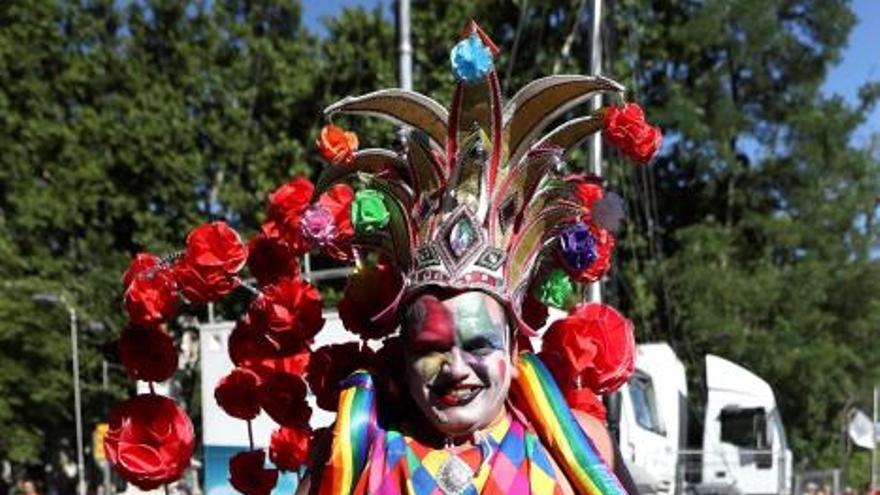 Desfile del Orgullo Gay 2019 en Madrid