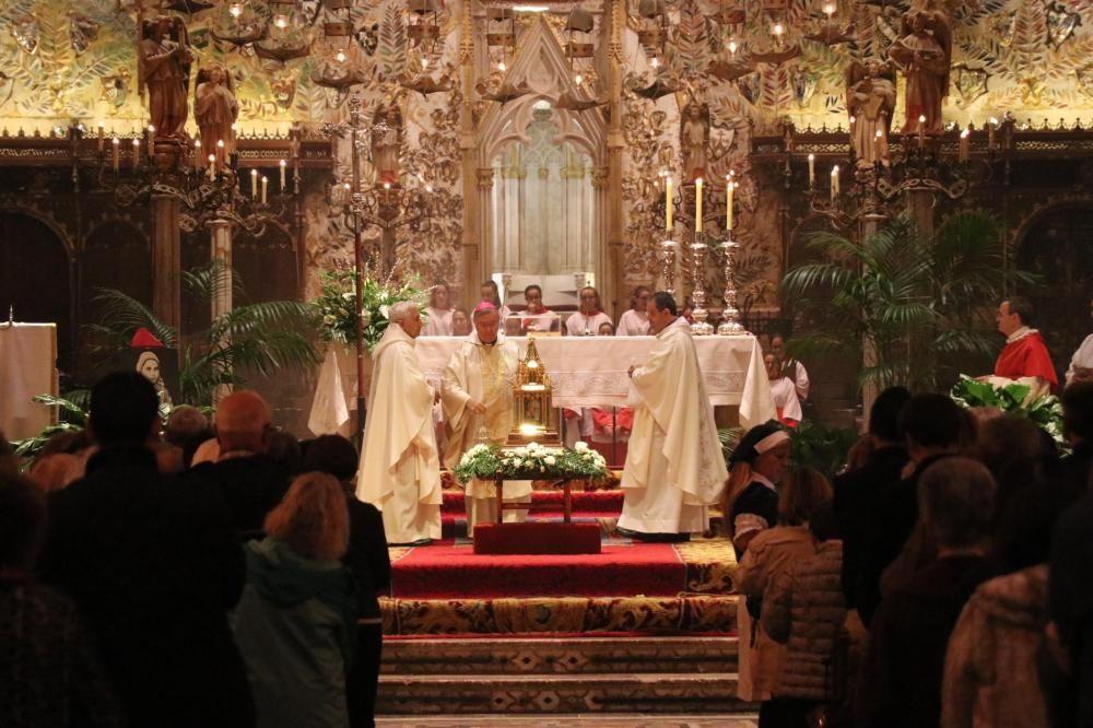 Peregrinación de las reliquias de Santa Bernadette