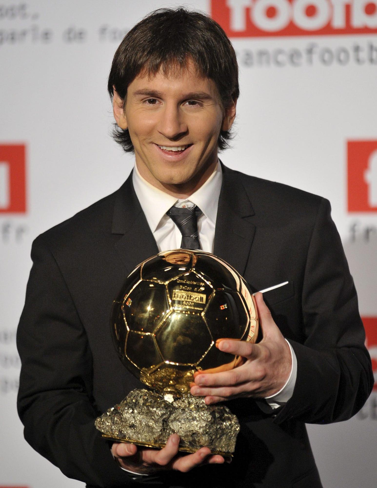 La carrera de Messi en el Barcelona, en diez imágenes