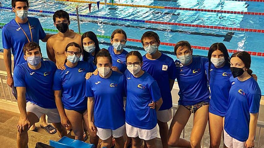 Nadadores del CN Xàtiva logran las marcas mínimas para los Autonómicos