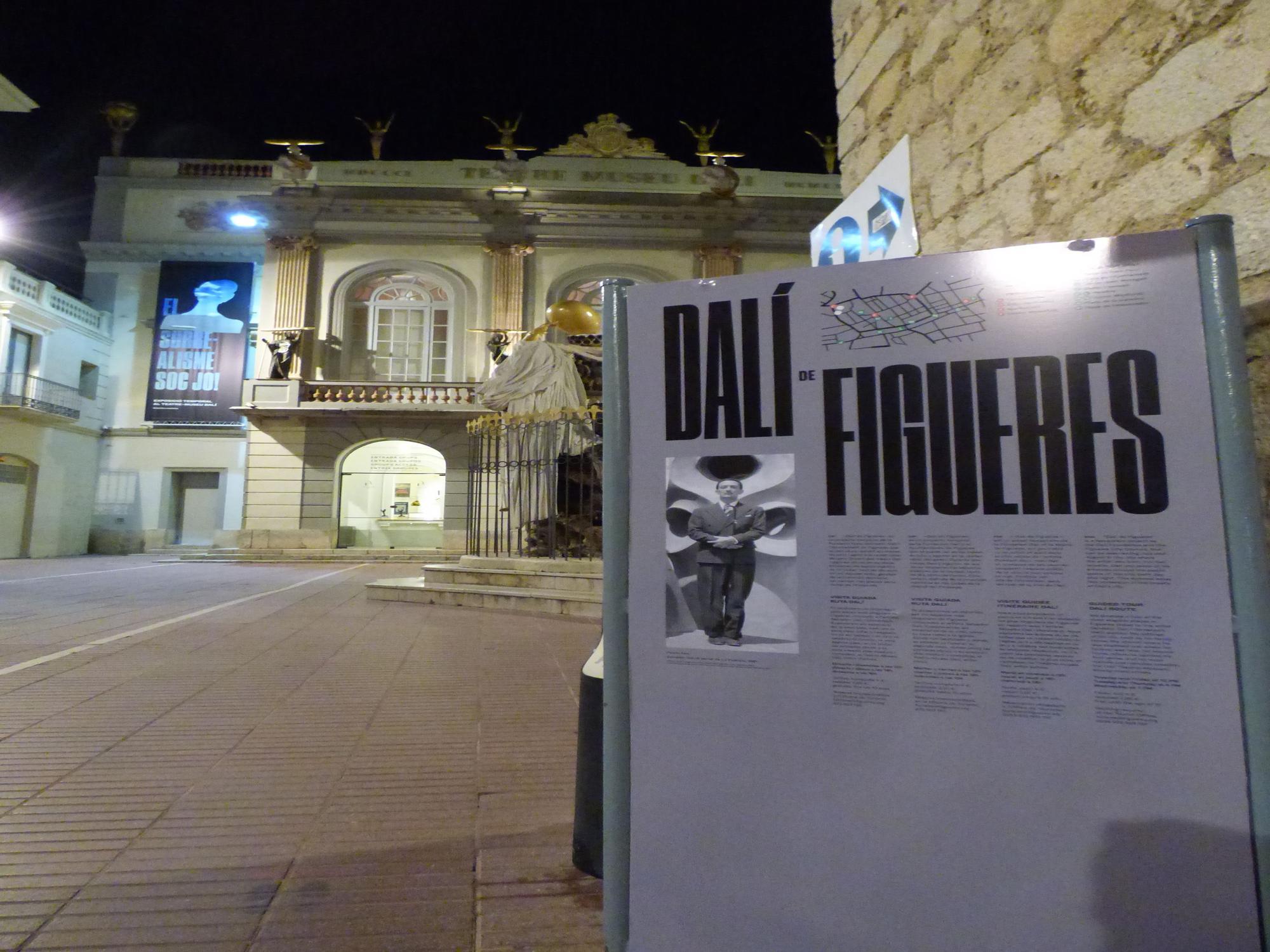 Il·luminació daliniana a Figueres