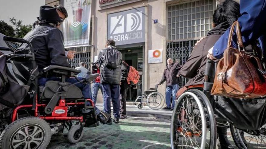 Alcoy invierte 780.000 euros en el Plan de Accesibilidad desde 2016