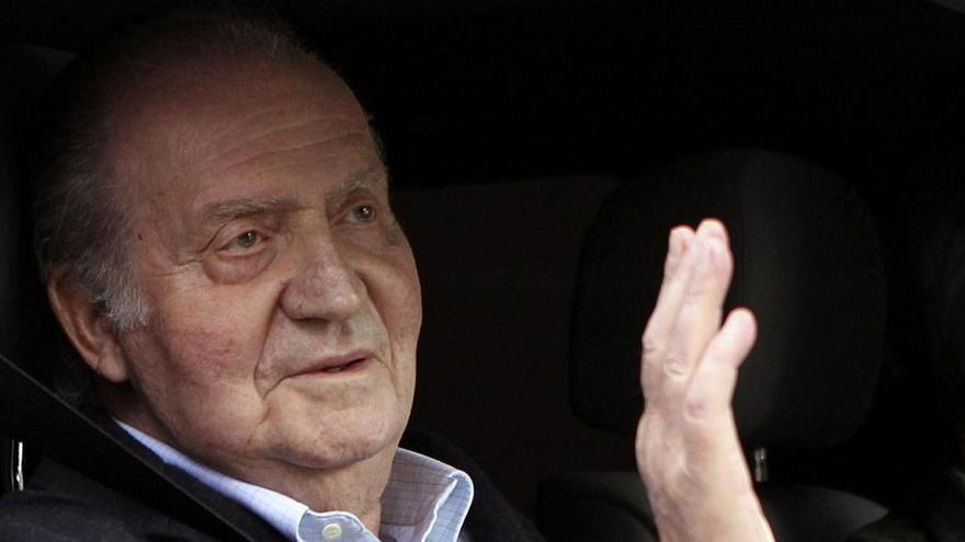 Mutismo sobre el destino de don Juan Carlos para pasar su incierto paréntesis