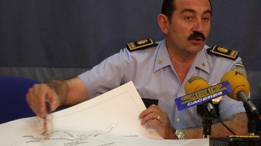 Momentos del exjefe de la Policía Local de Cáceres