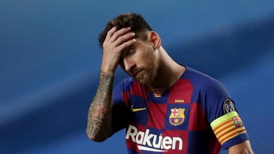Messi, de la servilleta al burofax