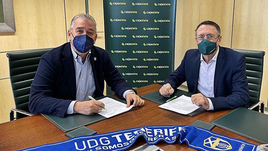 La Fundación Canaria Cajasiete y la UDG Tenerife renuevan su acuerdo