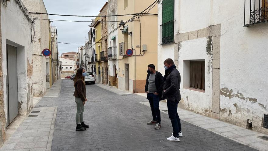 Sant Jordi finaliza la mejora de la calle Sant Josep