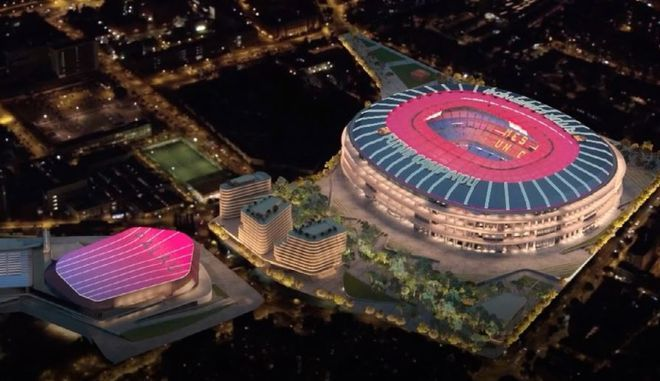 El Camp Nou del futuro: así luce la reforma del estadio del Barça con un multimillonario proyecto