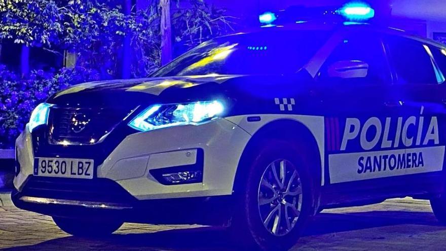 Cazan a un conductor ebrio y a otro sin carné saltándose el toque de queda en Santomera