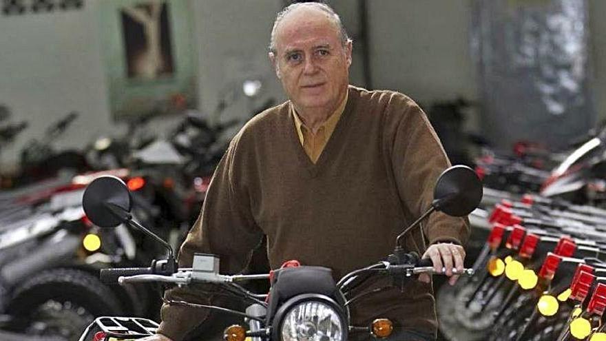 Mor Jordi Riera Baró, la segona generació del fabricant de motos Rieju