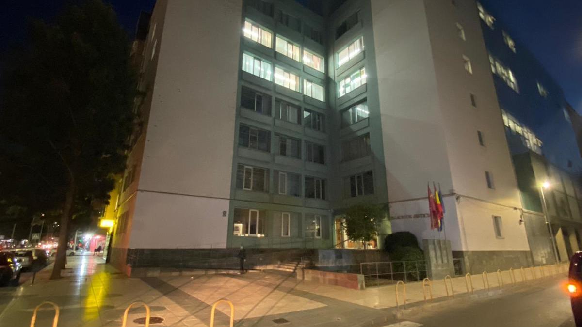 Fachada del Palacio de Justicia de Cartagena