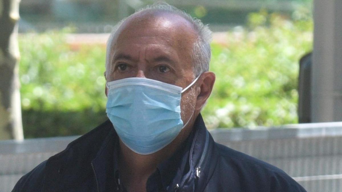 José Luis Moreno, puesto en libertad tras su detención el pasado martes.