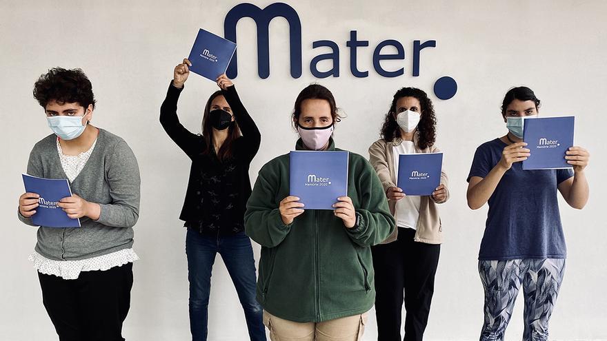 Mater atengué l'any 2020 un 10% més de persones amb altres capacitats respecte del 2019