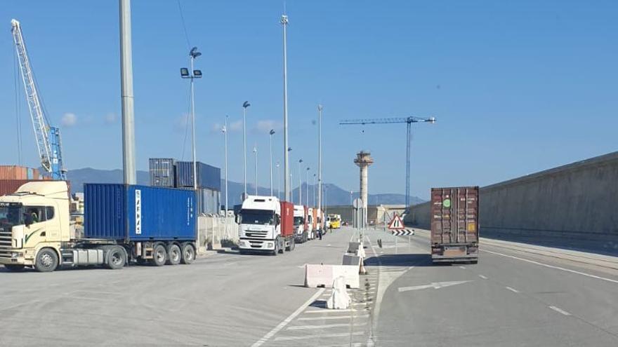 El transporte portuario se detiene el viernes en Castelló