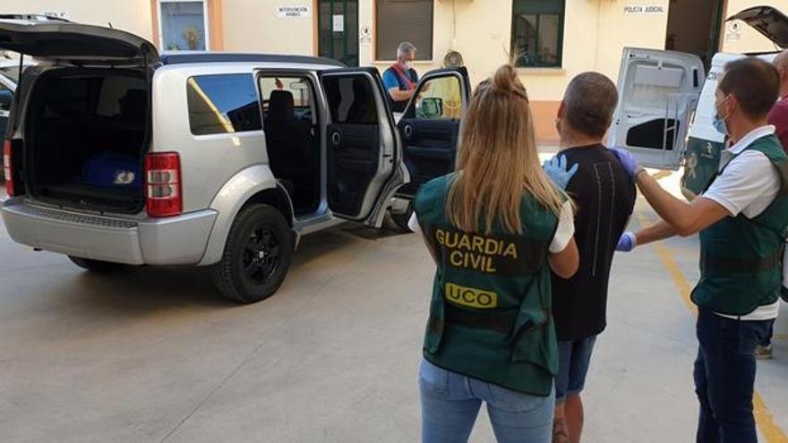 La Guardia Civil detiene a uno de los implicados en el secuestro de Pablo Juan Sánchez.