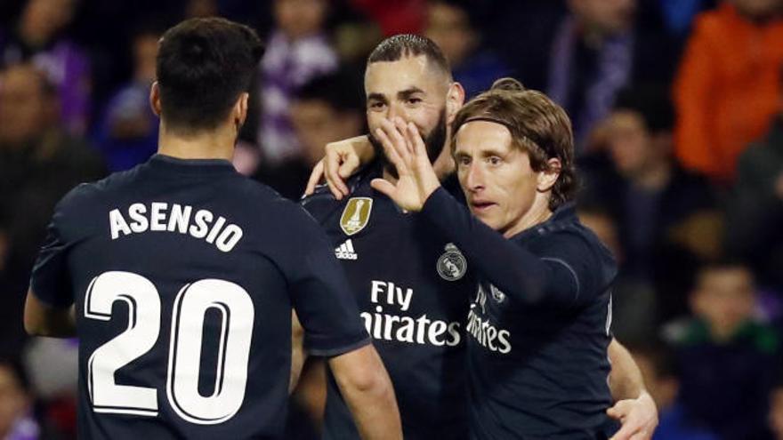 LaLiga Santander: Los goles del Valladolid-Real Madrid (1-4)
