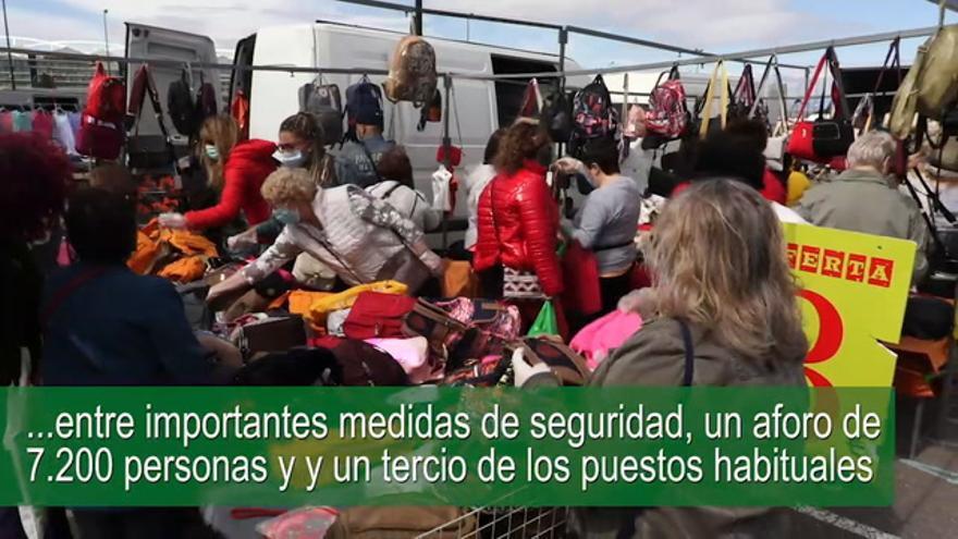 Reapertura del mercado ambulante de La Almozara