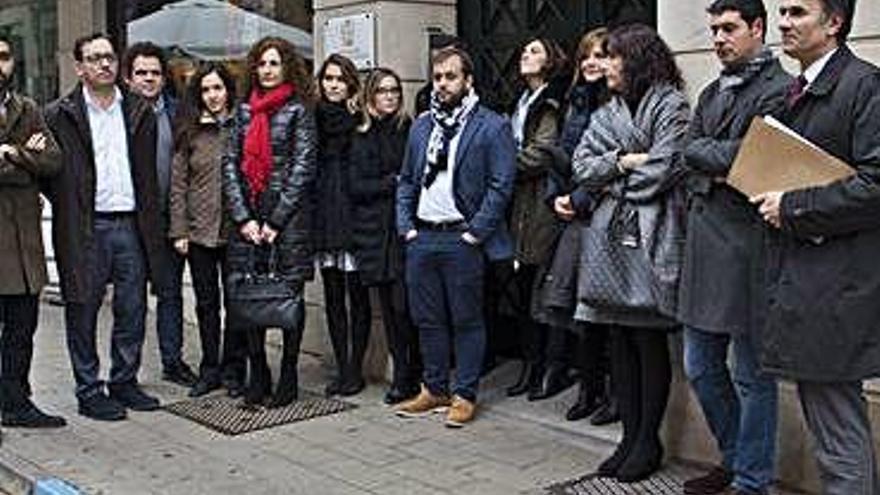 Los abogados del turno de oficio realizan paros semanales a partir de febrero