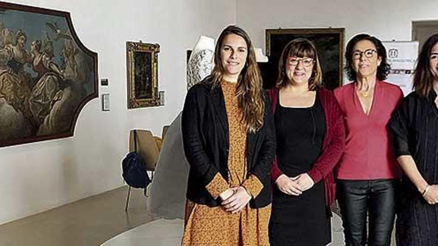 La espada hallada en Puigpunyent lucirá restaurada en el Museu de Mallorca