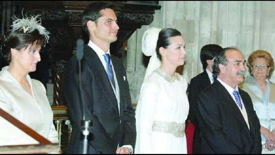 La boda de la hija de Blas Herrero, un reparto de lujo para un enlace de  cine - La Nueva España