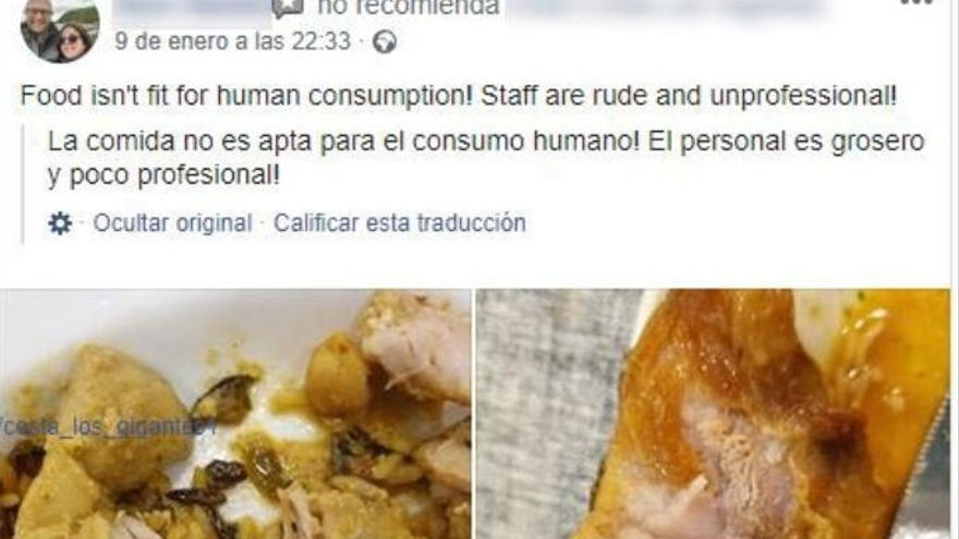 "La prensa inglesa difunde la noticia de la ""horrible"" estancia de una familia en Tenerife"