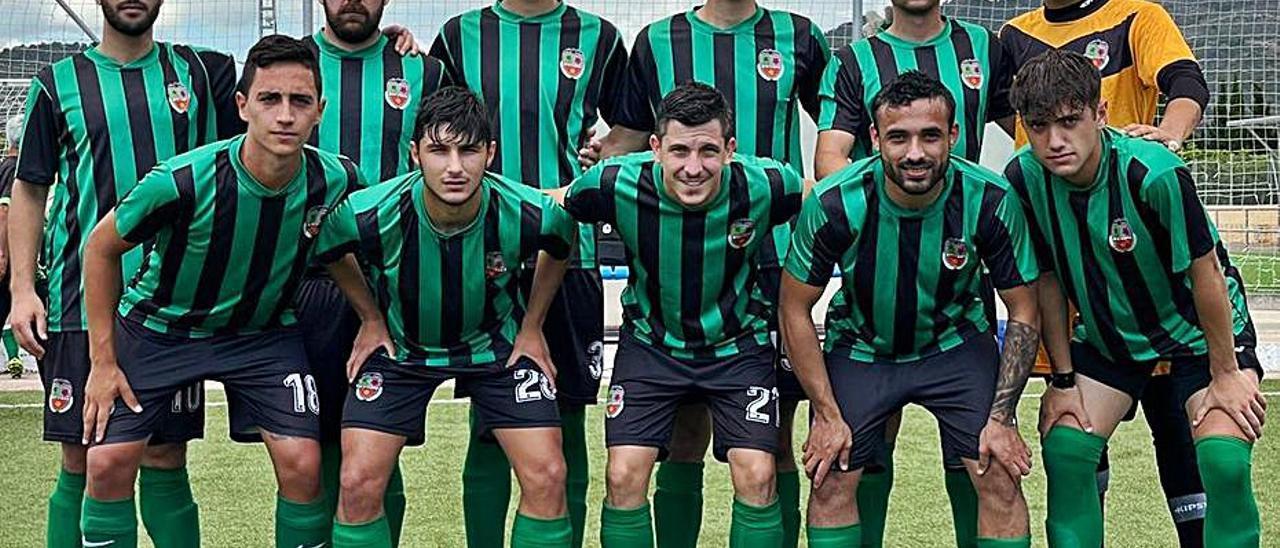 Equipo titular del Daimús CF en la pasada jornada de liga. | DAIMÚS CF