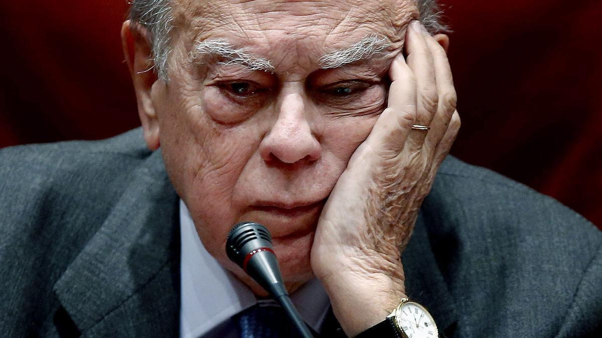 El expresidente de la Generalitat Jordi Pujol Soley.